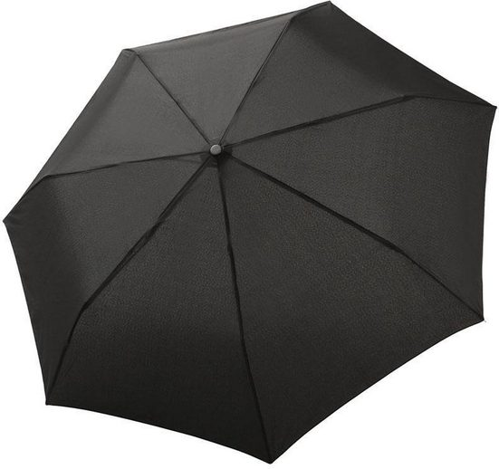 Bugatti Regenschirm - Taschenschirm, »Buddy Duo, Black«