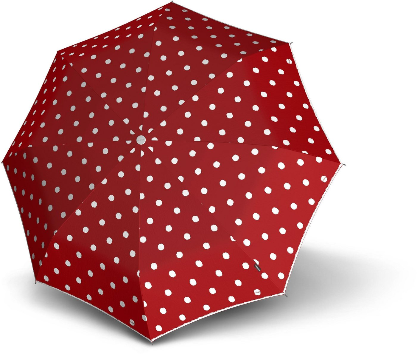Regenschirme - Knirps® Taschenregenschirm »T.010 Small Manual, Dot Art Red« ›  - Onlineshop OTTO