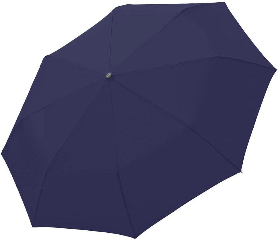 Reisen Regenschirme Knirps Ts.200 Slim Medium Duomatic Regenschirm Accessoire Navy Blau Neu
