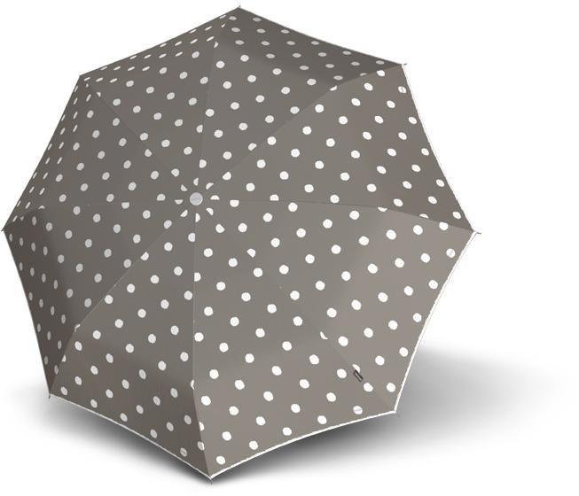 Regenschirme - Knirps® Taschenregenschirm »T.010 Small Manual, Dot Art Taupe« ›  - Onlineshop OTTO