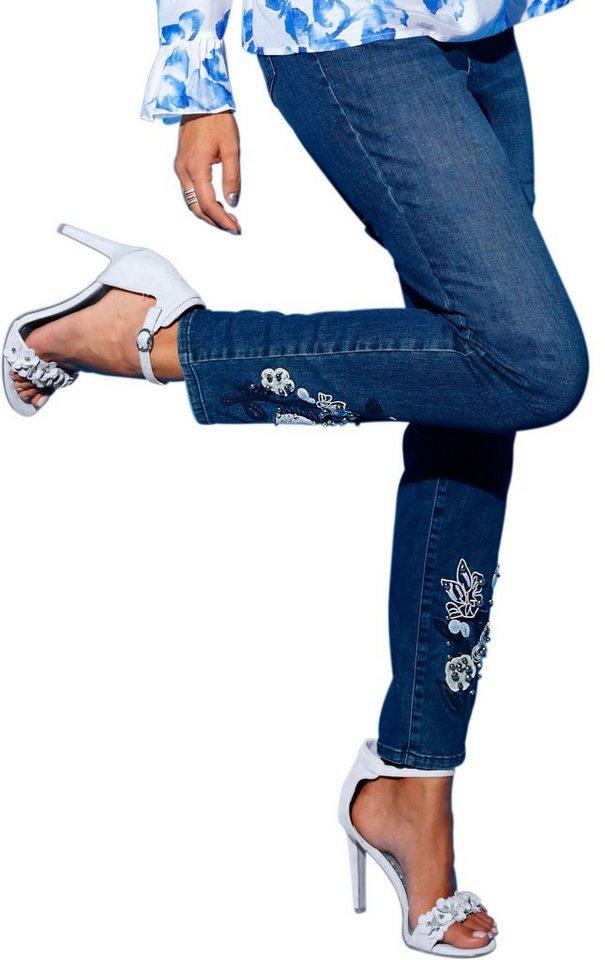 création L Jeans in klassischer 5-Pocket-Form | Bekleidung > Jeans > 5-Pocket-Jeans | Blau | Jeans | Creation L