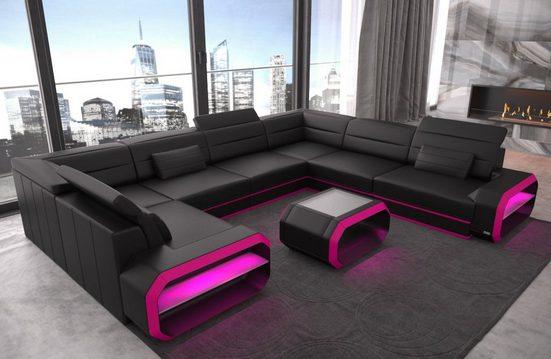 Sofa Dreams Sofa »Verona«, U Form