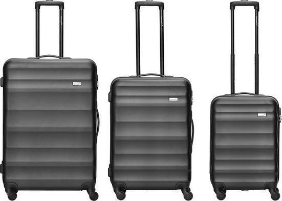 Packenger Trolleyset »Timber«, 4 Rollen, (3 tlg)
