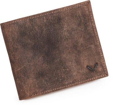 Inkl Messengerbag Vintage Geldbörse »haroi Packenger Braun« qPBZY7Zw