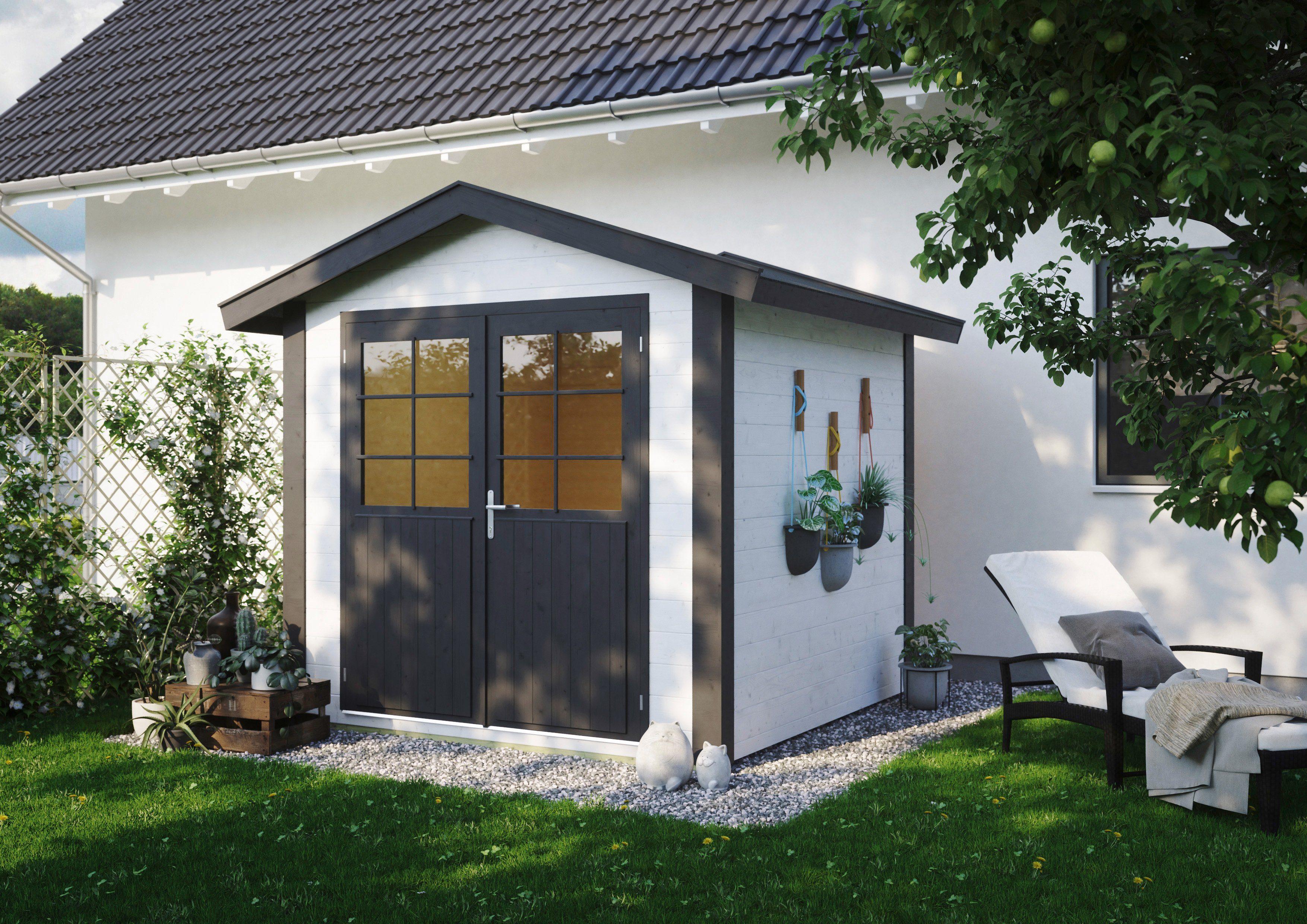 Gartenhaus Fußboden Aufbau ~ Luoman gartenhaus lillevilla « bxt cm inkl aufbau