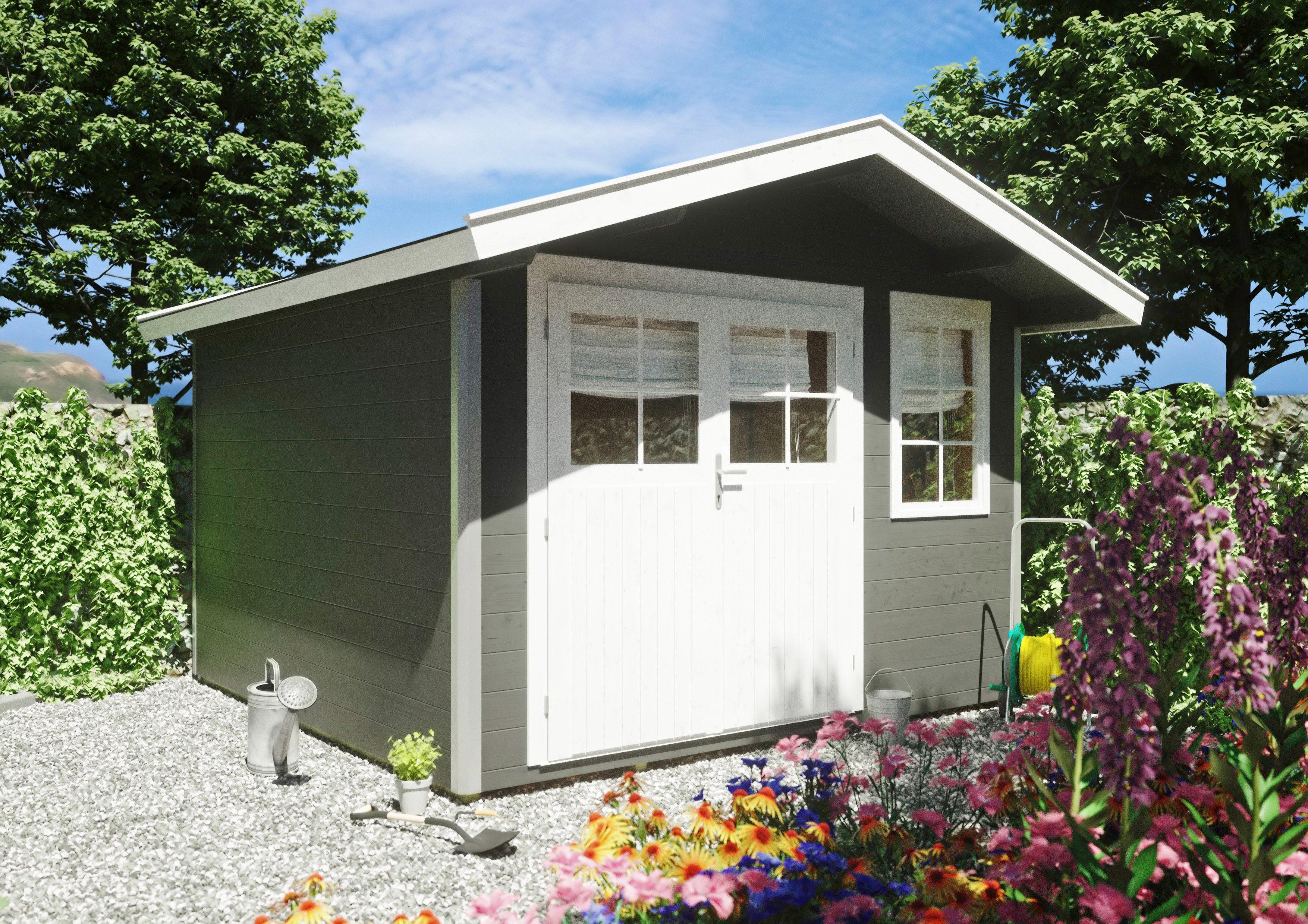 Gartenhaus Fußboden Aufbau ~ Gartenhaus bauen und aufstellen mit der anleitung von obi