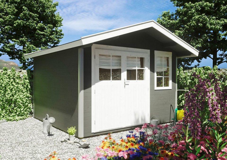 Aufbau Eines Gartenhaus