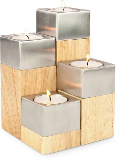 ROMINOX Teelichthalter »Luce« (Set, 4 Stück)