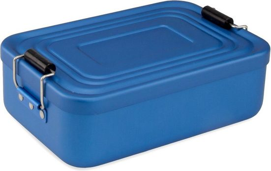 ROMINOX Lunchbox »Quadra matt«, Aluminium, Kunststoff, (1-tlg)