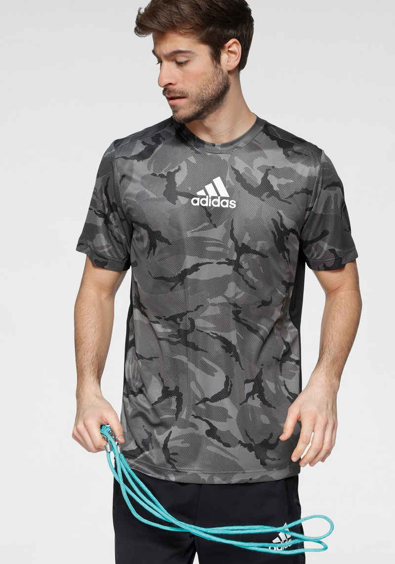 adidas Performance Trainingsshirt »ADIDAS MEN DESIGNED 2 MOVE CAMO GRAPHIC T-SHIRT«
