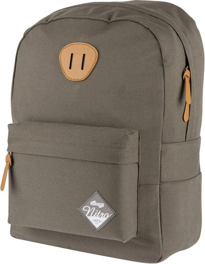 NITRO Laptoprucksack »Urban Classic Waxed Lizard«