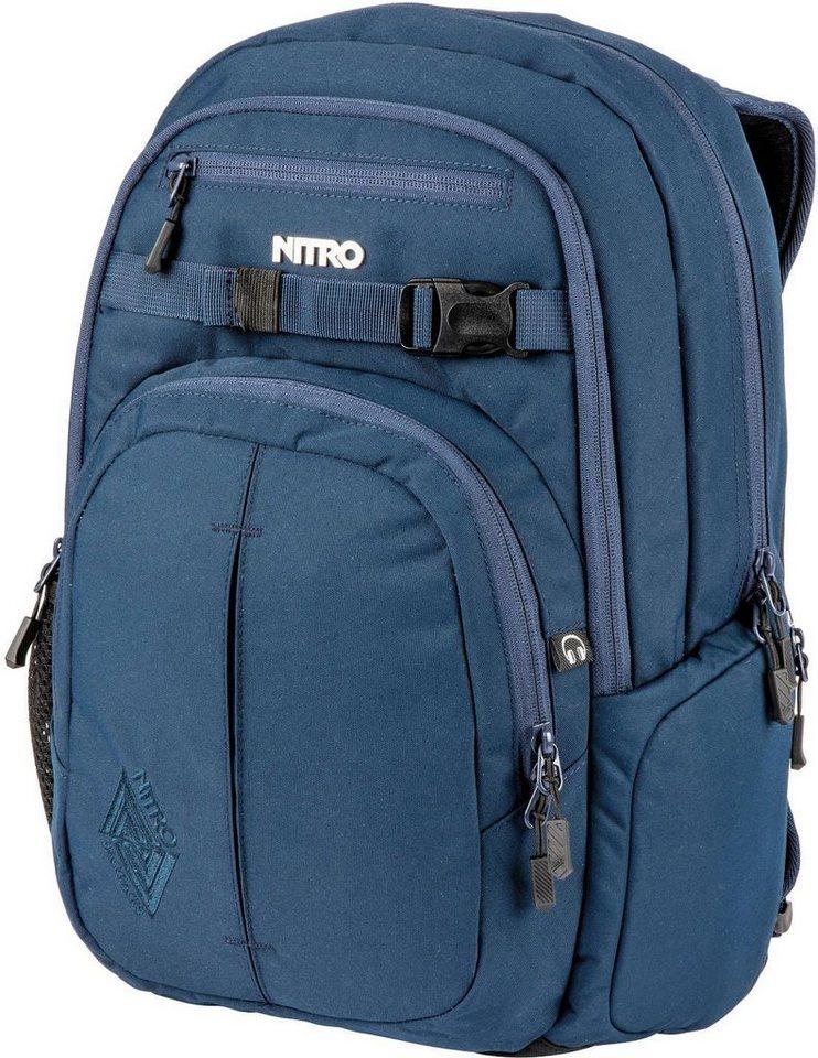 60dc7b20ff196 Nitro Schulrucksack mit Laptopfach