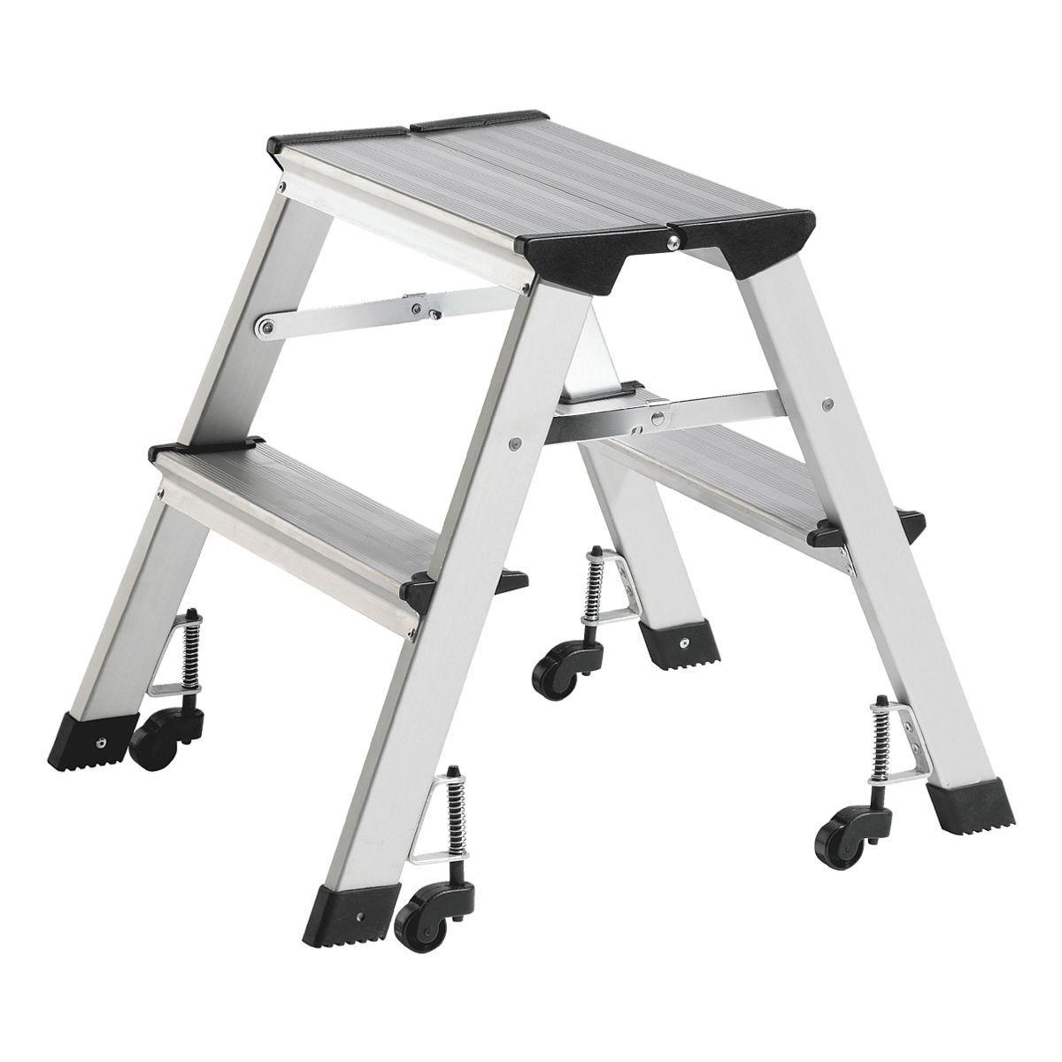 Alco Mobile Trittleiter | Baumarkt > Leitern und Treppen > Trittleiter | ALCO