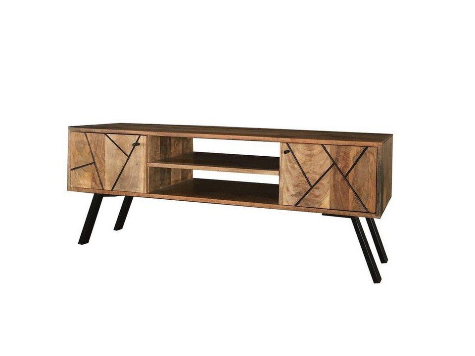 kawola tv board holz mit t ren aria kaufen otto. Black Bedroom Furniture Sets. Home Design Ideas