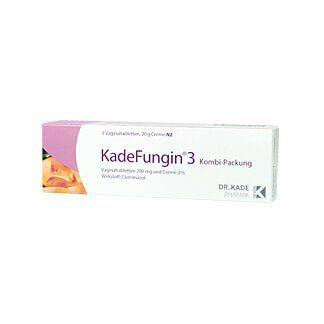 Kadefungin 3 Kombi-Packung 20 g Creme + 3 Vaginaltabletten, 1 St