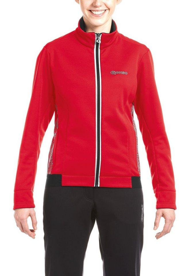 Gonso Fahrradjacke »Alta W« winddicht | Sportbekleidung > Sportjacken > Fahrradjacken | Rot | Gonso