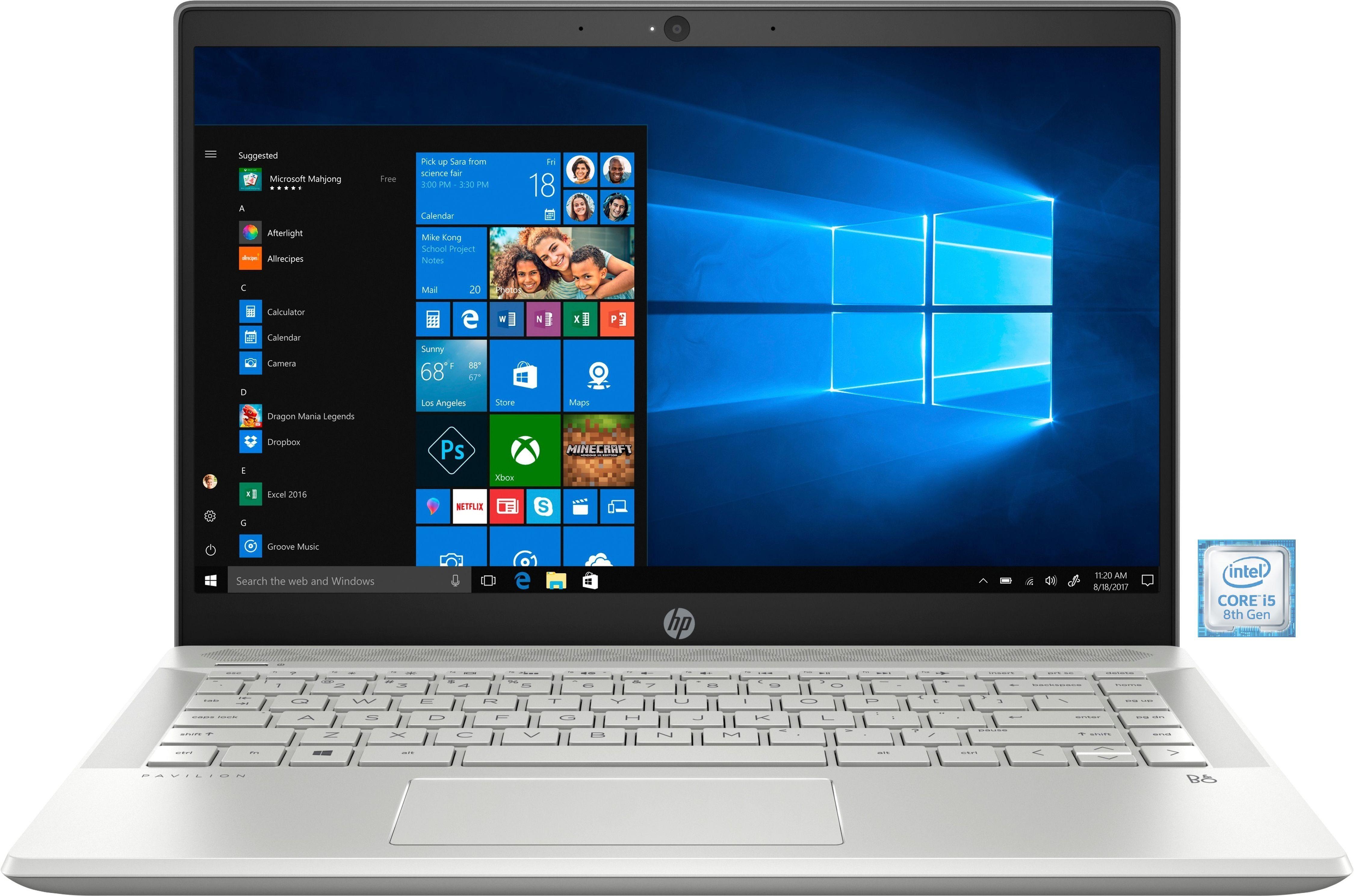 "HP Pavilion 14-ce1003ng Notebook »35,6 cm (14"") Intel Core i5, 256 GB, 8 GB«"