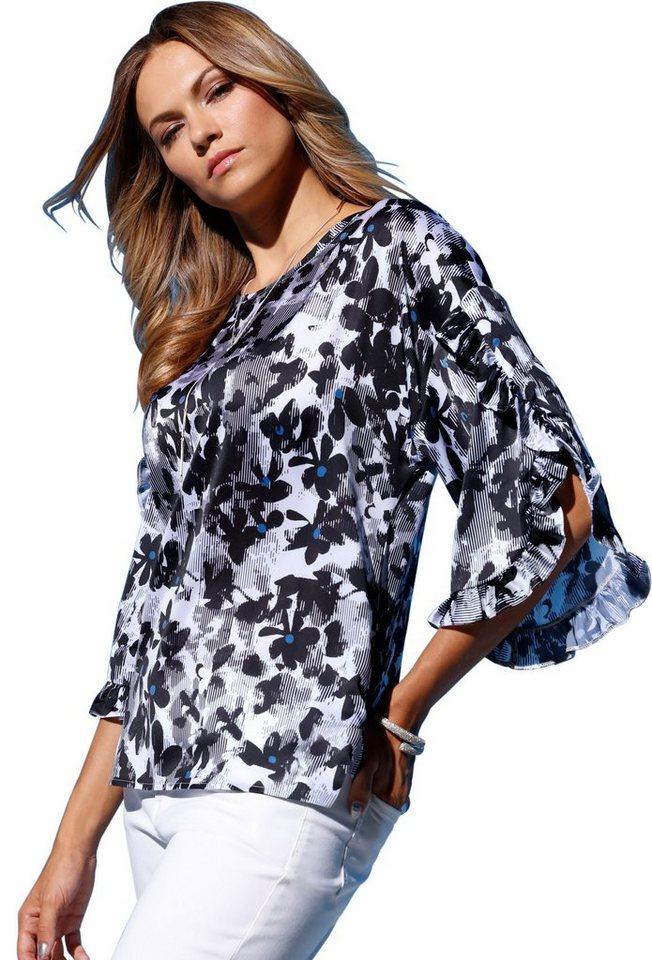 f4a482840002 création L Bluse mit aufsehenerregend schönen Volants online kaufen | OTTO