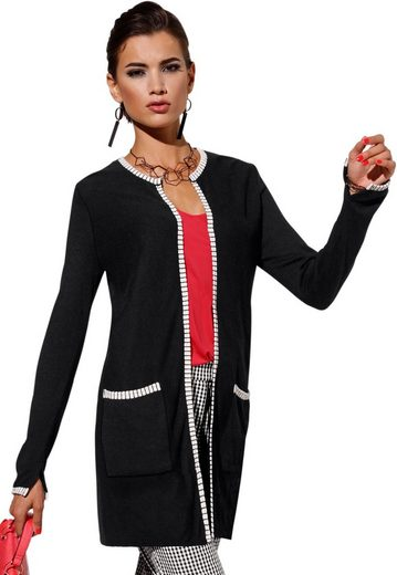 Cardigan Form Création In Offener L 504wwHxY