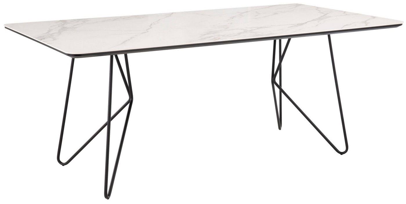 Tische - Villeroy Boch Esstisch »MOSAÏQUE Amara«, mit Keramiktischplatte und Haarnadelfuß, Breite 190 cm  - Onlineshop OTTO