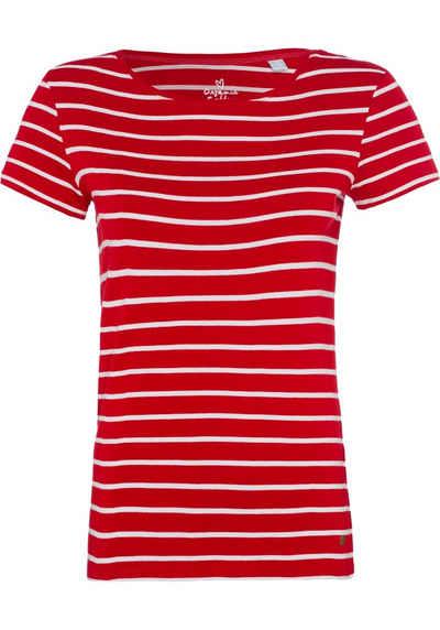 Esprit T-Shirt mit imitierter Knopfleiste 60c9a9545c