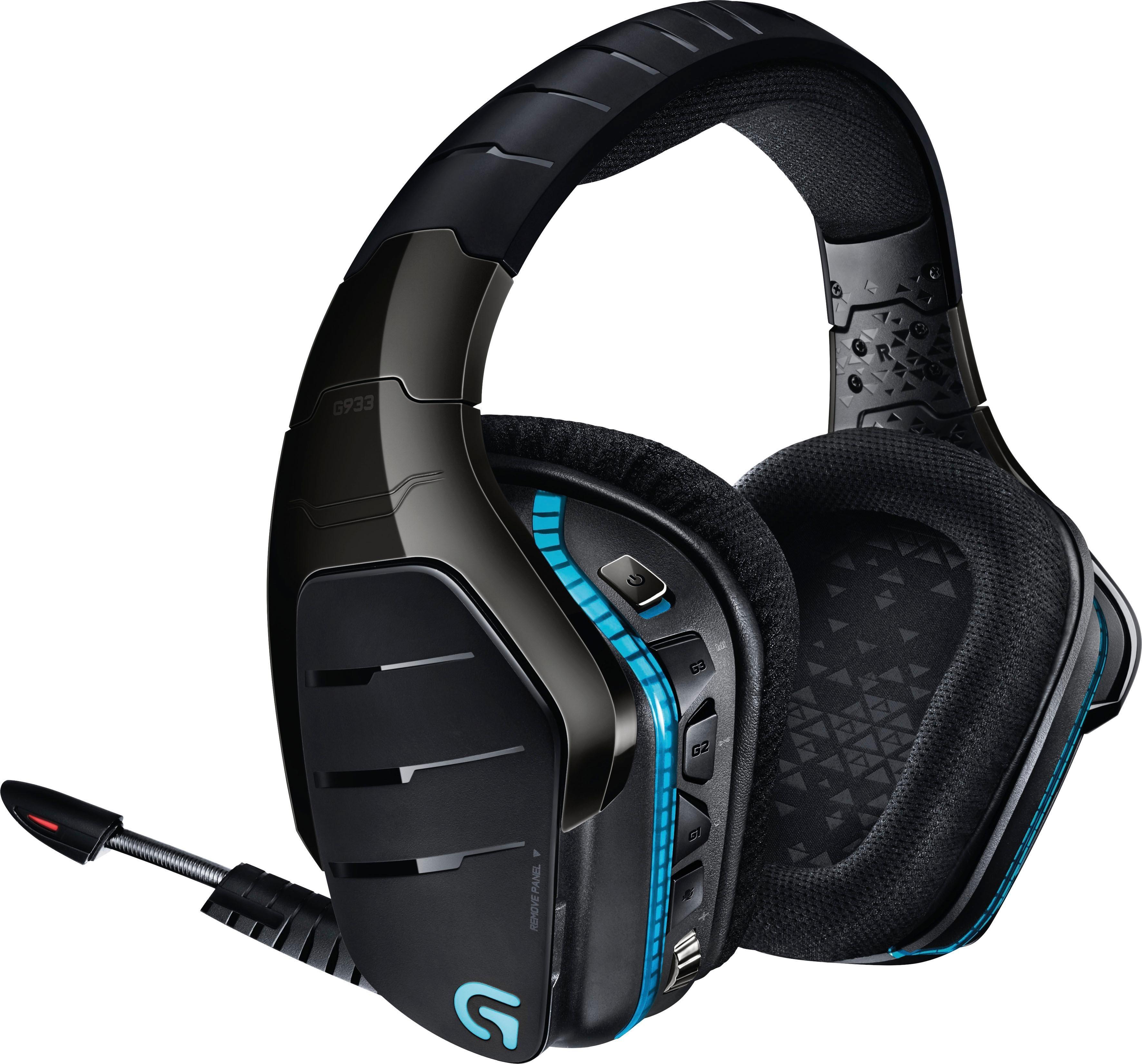 »G933 Artemis Spectrum Wireless 7.1 Surround« Gaming-Headset (Rauschunterdrückung)