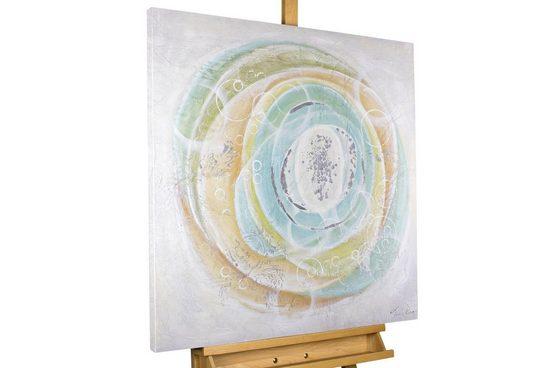 KUNSTLOFT Gemälde »Im Sog der Zeit«, handgemaltes Bild auf Leinwand
