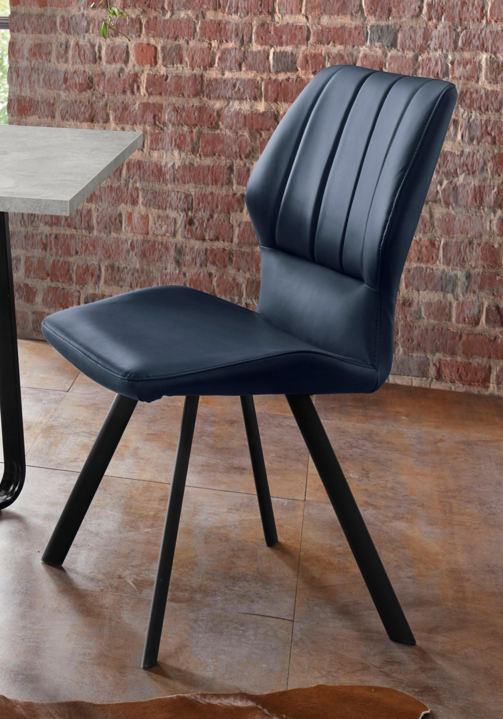 Homexperts 4 Fußstuhl »Lisa«, Sitz und Rücken gepolstert online kaufen | OTTO