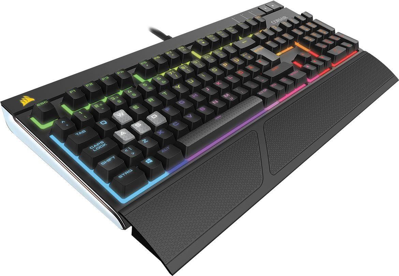Corsair »Strafe RGB Mechanische Gaming Tastatur, Cherry MX Red« Gaming-Tastatur (USB-Anschluss, Ziffernblock, Fn-Tasten)