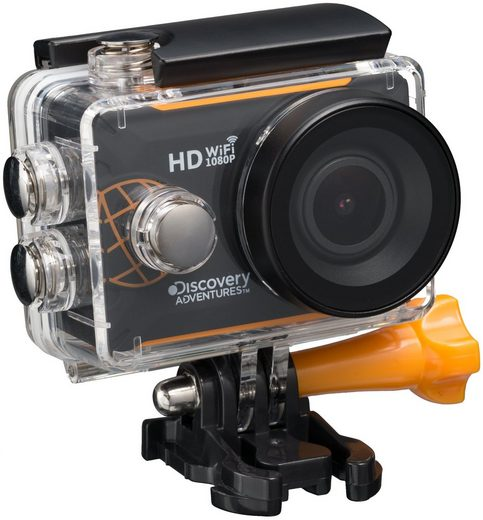 Discovery Adventures Action Cam »Expedition Full-HD 1080P WLAN«