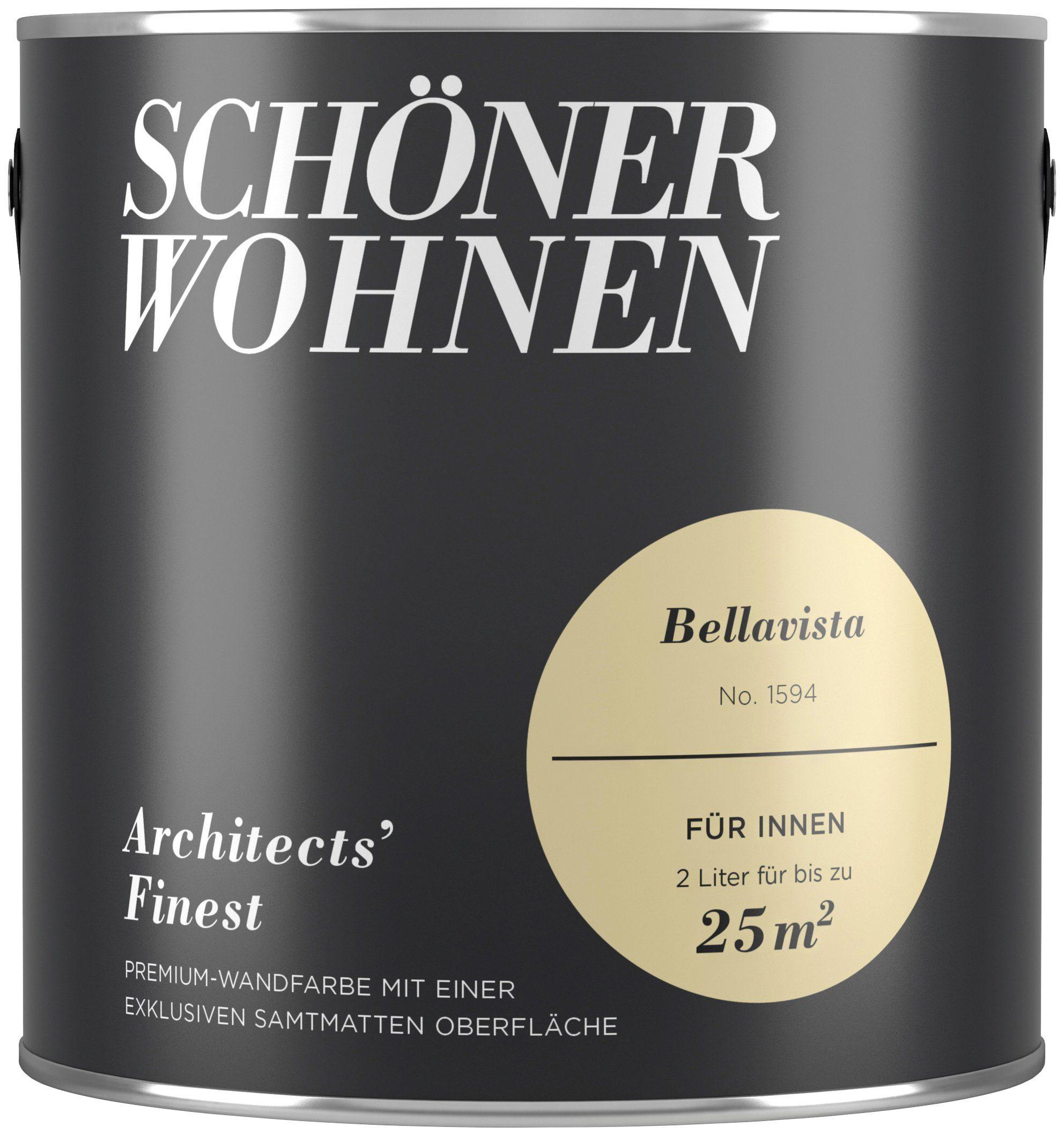 SCHÖNER WOHNEN FARBE Farbe »Architects' Finest Bellavista«, matt 2 l