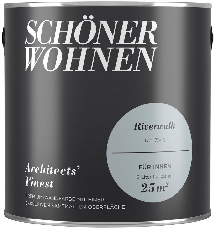 Schoner Wohnen Farbe Farbe Architects Finest Riverwalk Matt 2 L Online Kaufen Otto