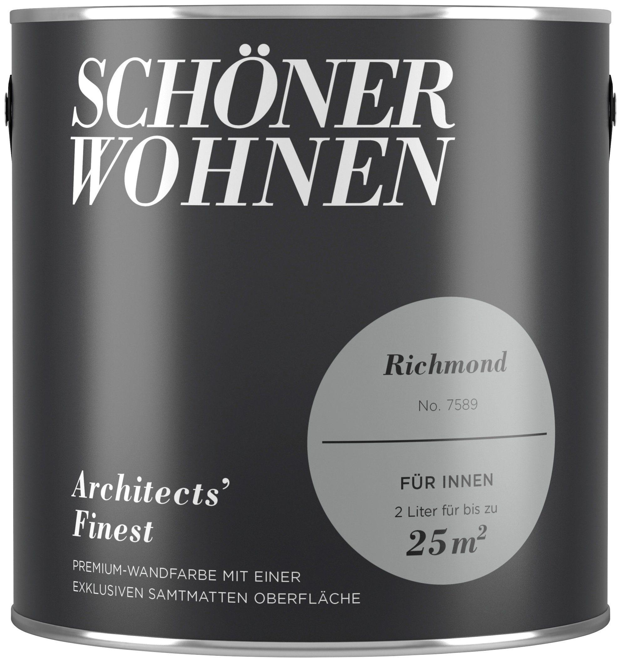 SCHÖNER WOHNEN FARBE Farbe »Architects' Finest Richmond«, matt 2 l