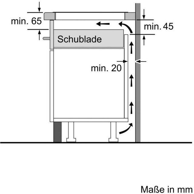 SIEMENS Flex-Induktions-Kochfeld von SCHOTT CERAN iQ500 ED845FWB5E