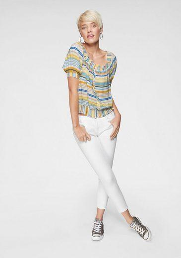 jeans Leichten look »adriana Mavi Im Ankle« Skinny fit Used 8YEqqwSO
