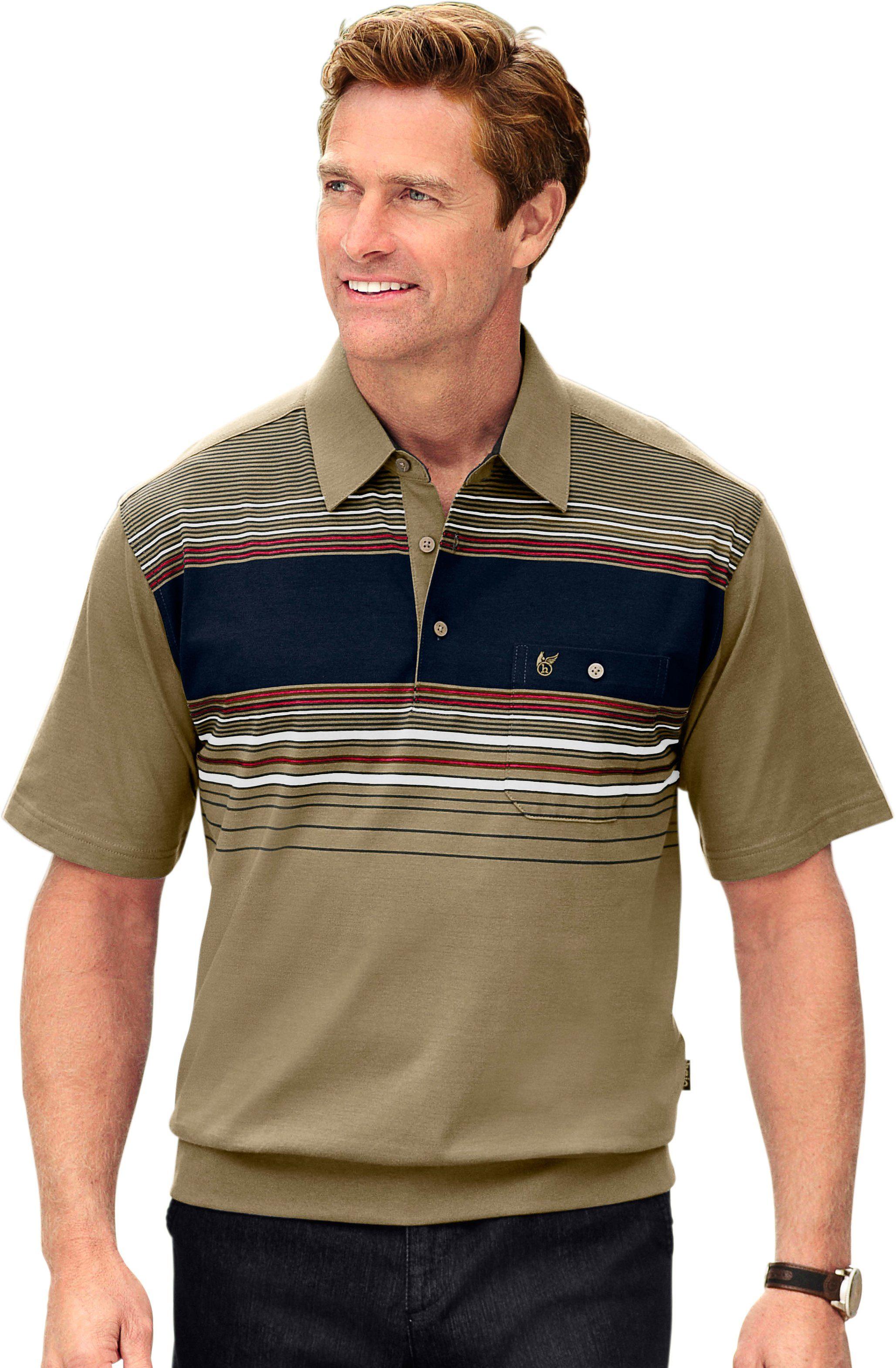 Hajo Poloshirt Bügelfrei