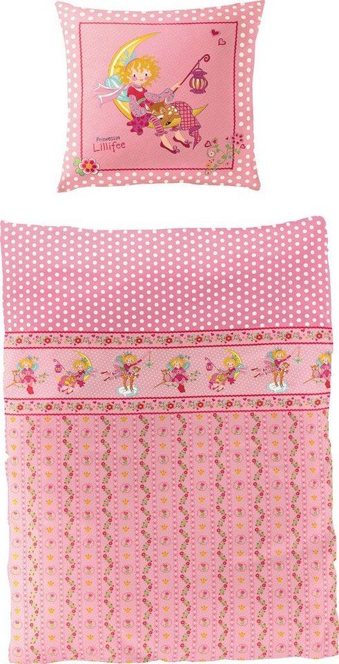 Kinderbettwäsche »Mond«, Prinzessin Lillifee, Lizenzbettwäsche ´´Prinzessin Lillifee´´   Kinderzimmer > Textilien für Kinder > Kinderbettwäsche   Rosa   Prinzessin Lillifee