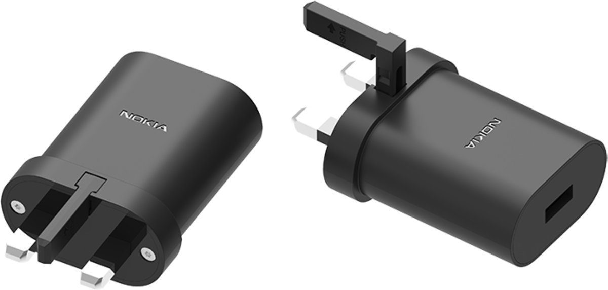 Nokia Lader »10W Wall Charger UK AD-10WX«