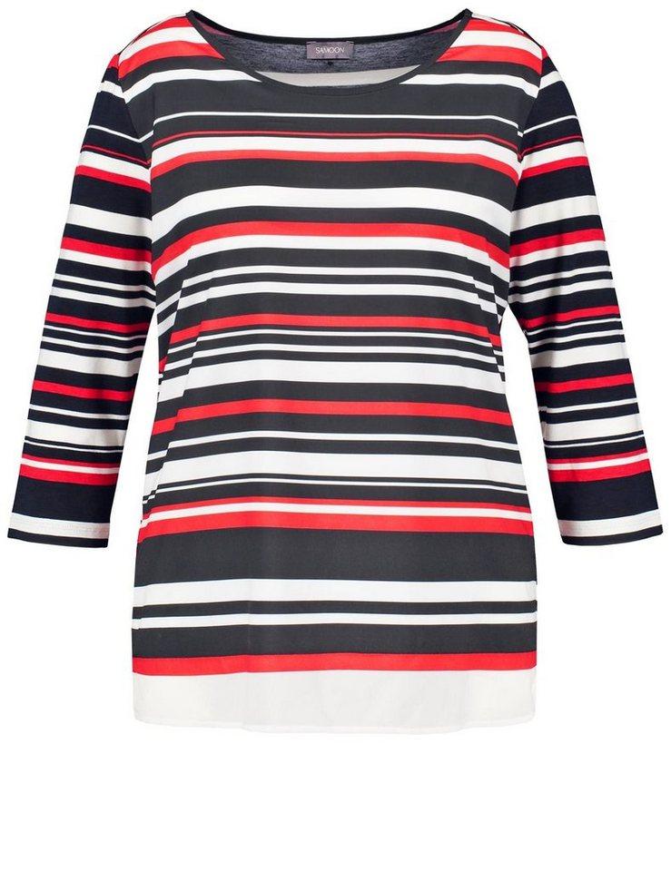 samoon-t-shirt-3-4-arm-rundhals-blusenshirt-mit-layer-effekt-navy-multicolor-ringel.jpg  formatz  85ebce4cc5