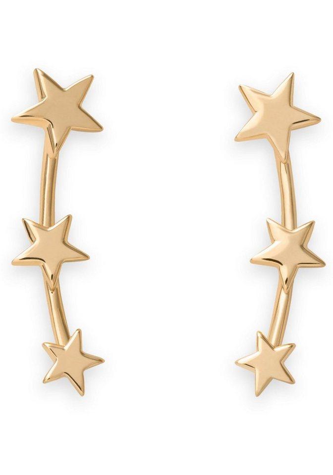 ROSEFIELD Paar Ohrstecker »Iggy Triple star stud gold, JTSSG-J061«   Schmuck > Ohrschmuck & Ohrringe > Ohrstecker   Goldfarben   ROSEFIELD