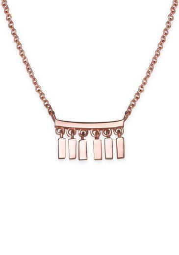 ROSEFIELD Kette mit Anhänger »Iggy Multi drop necklace rosegold, JMDNR-J052«