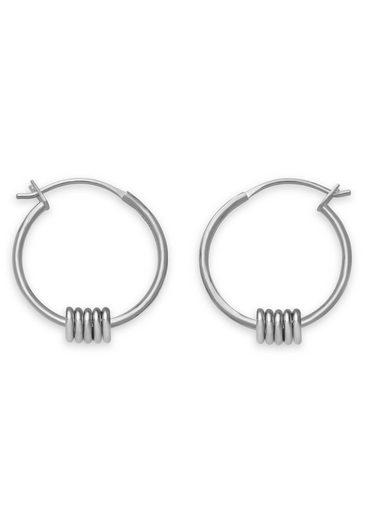 ROSEFIELD Paar Creolen »Iggy Multi hoop small silver, JMHSS-J067«