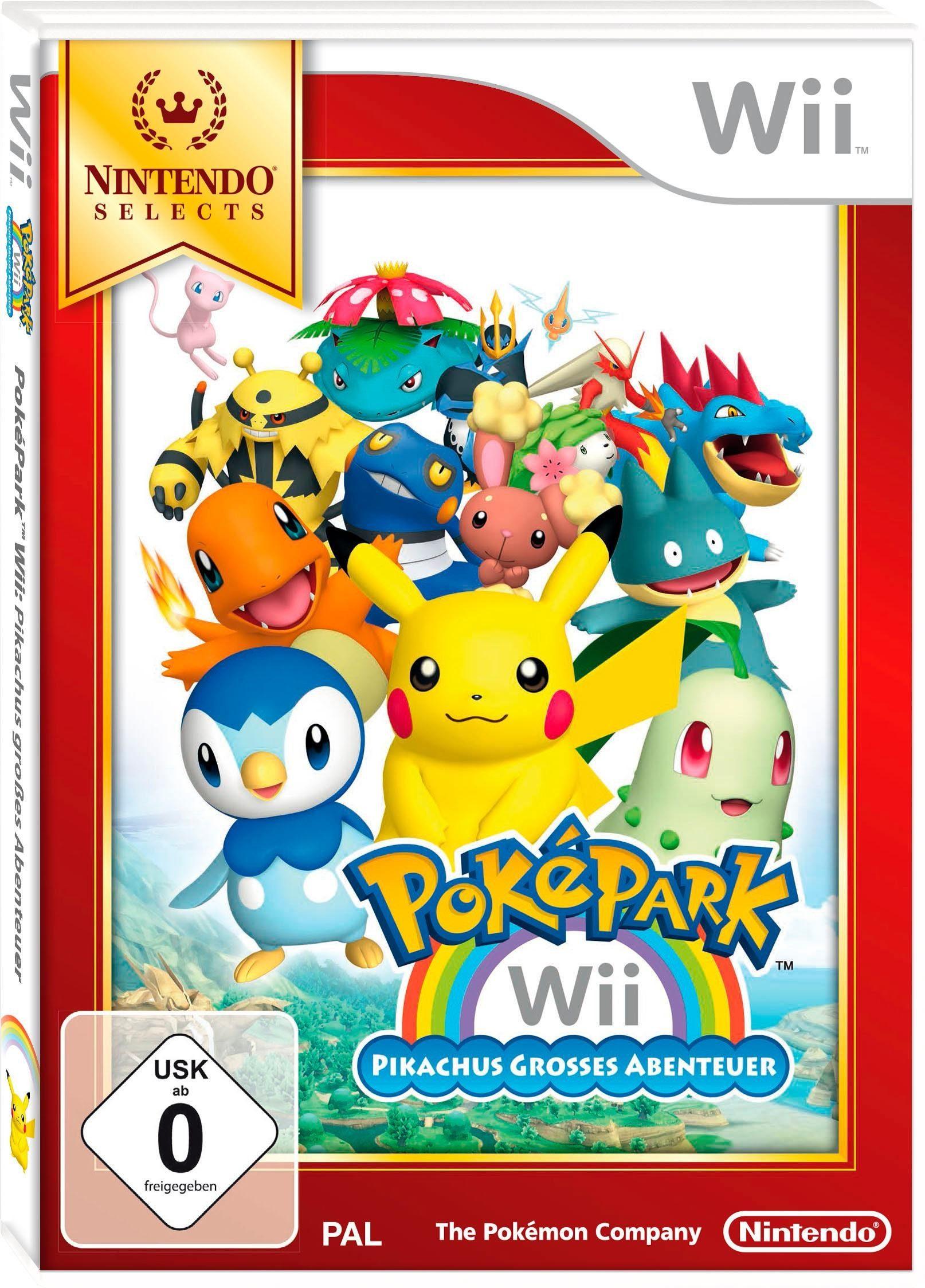 PokéPark Wii: Pikachus großes Abenteuer Nintendo Selects Nintendo Wii