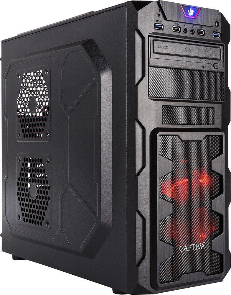CAPTIVA G9A 18V1 Gaming-PC (AMD Ryzen 7, 8 GB RAM, 1000 GB HDD, 120 GB SSD, Luftkühlung)