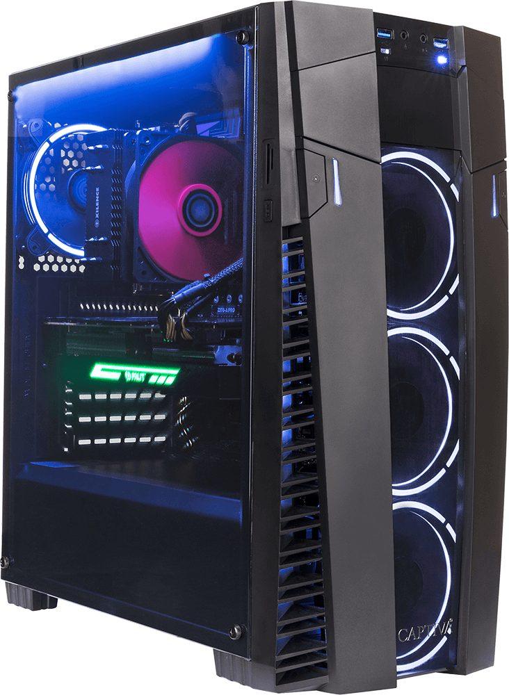 CAPTIVA G26I 18V1 Gaming-PC (Intel Core i7, 32 GB RAM, 1000 GB HDD, 250 GB SSD, Luftkühlung)