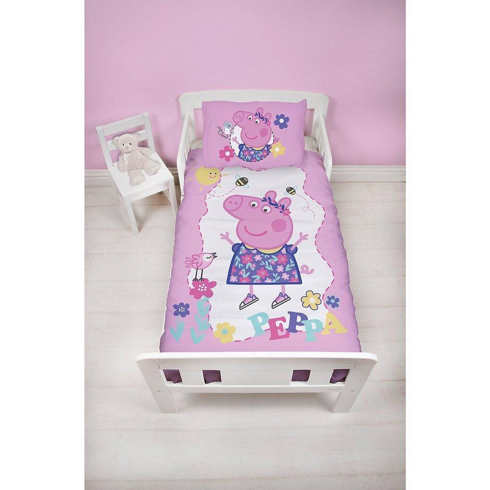 Wende Kinderbettwäsche Peppa Pig 100 X 135 Cm Otto