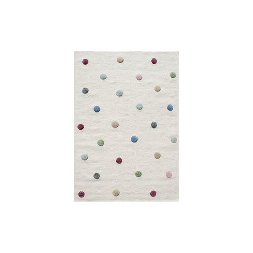 Happy Rugs Kinderteppich, COLORDOTS natur/multi, 160 x 230 cm