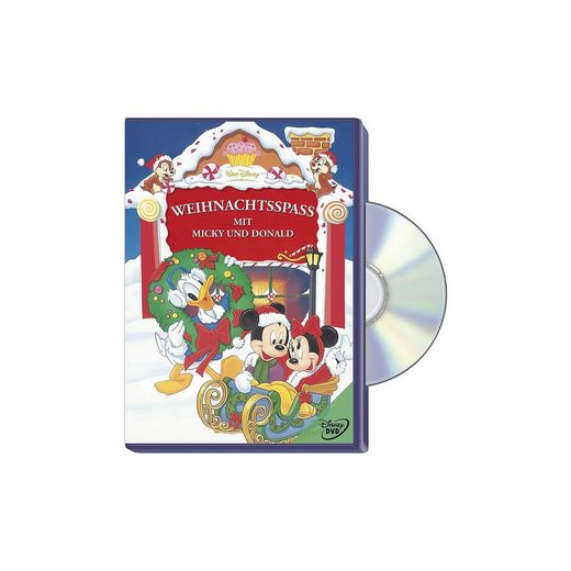 Disney DVD Weihnachtsspaß mit Micky und Donald