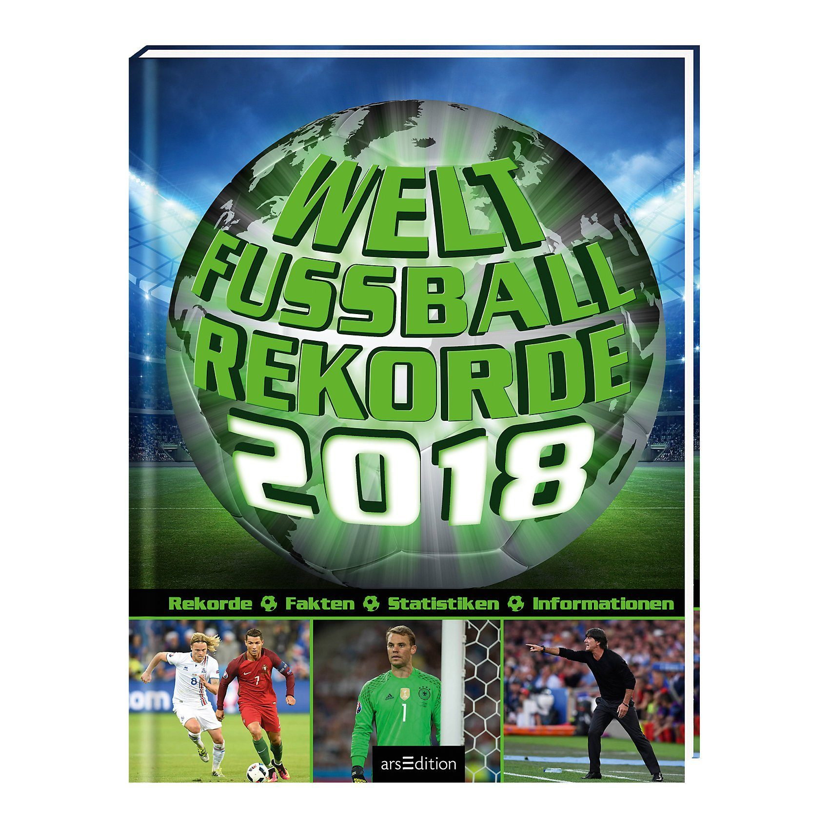 arsEdition Verlag Welt-Fußball-Rekorde 2018
