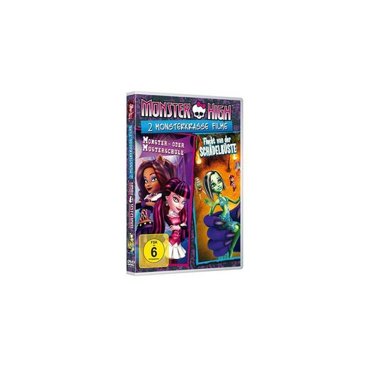 Universal DVD Monster High - 2 Monsterkrasse Filme Vol. 2 (Flucht von